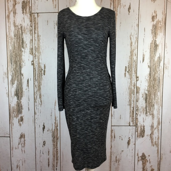 Charlotte Russe Dresses & Skirts - Charlotte Russe Bodycon Open back Marled Dress SzS
